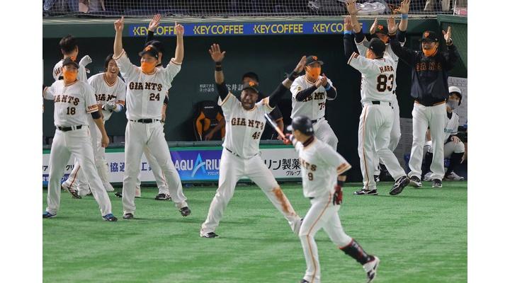 通算ホームラン99本の内サヨナラホームランが7本の巨人・亀井という選手!