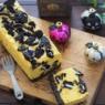 ゼラチン不要!焼かないパンプキンチーズケーキ 牛乳パックで ハロウィンに!