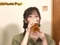 【乃木坂46】山下美月のビール飲み方が上品すぎる!!!(画像あり)