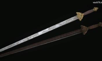 中国軍将校の剣(Chinese officer sword)
