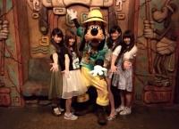 【AKB48】11期生4人で夢の国へ!川栄の私服www