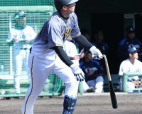 【阪神】井上 第1打席でいきなり本塁打!プロ投手から初アーチ!!