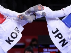 【東京五輪】テコンドー世界王者の韓国代表、日本人選手にボッコボコにされ大号泣wwwwwwwwwwwwww