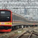 『高架化も目前!!ボゴール線下り、マンガライ駅構内線路付け替え(2月17日)』の画像