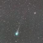 『28日明け方のパンスターズ彗星(C/2015 ER61)』の画像