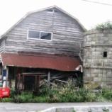 『旧道の川井さんのサイロ 壊してしまったよ』の画像