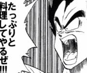 ブチギレ悟飯vs天津飯vsお料理べジータ