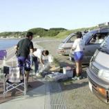 『1999年 9月 4~ 5日 夕日海岸移動・飲んだだけ:深浦町・風合瀬海岸』の画像