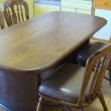 『高松市に柏木工の拭き直しメンテナンステーブルを納品』の画像
