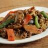 簡単・ひき肉と野菜のオイスター炒め