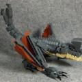 [パシフィック・リム]レゴで怪獣・オオタチを作ってみた。