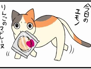 今日の泥棒猫~りんごのマドレーヌ~