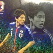【画像あり】サッカー日本代表チップス買ったから開封してく【26枚】