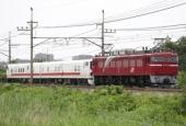 『2018/5/28運転 EF81-98牽引キヤE193系2両回送』の画像