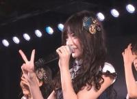 本日のチームK公演に海外からお客さんがきているため、通訳として平田梨奈が登場!