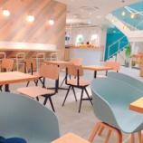 『京都 四条通の穴場カフェ BLUE LEAF CAFE (ブルー・リーフ・カフェ)』の画像