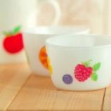 『デコパージュ■北欧ミルクグラス風カップの作り方■』の画像