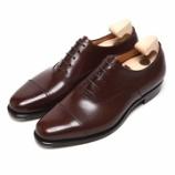 『誂靴 | JOE WORKS JOE-0 CAP TOE アノネイ ブラウン』の画像