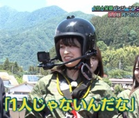 【欅坂46】キャプテン久美、トップバッターでヒット祈願バンジーに挑戦!【ひらがな推し】