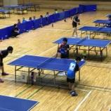 『平成29年度宮城県ホープス強化練習会・東日本大震災復興支援 卓球セミナー』の画像