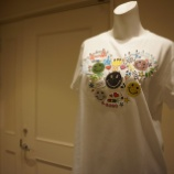『DUAL VIEW(デュアルヴュー)スマイルモチーフTシャツ』の画像