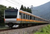 『2017/7/17運転 ホリデー快速富士山E233系代走』の画像