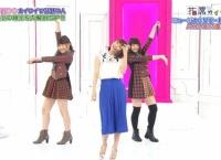 西野未姫、大和田南那が新妻聖子と一緒にフライングゲットを披露!二人ともおいしい!【指原カイワイズ】
