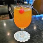《 カフェ・レスト グリム 》のスカッ!と美味しい♪ オレンジスカッシュ ~東京・小平~