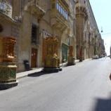 『マルタ旅行記14 意外と見れるとこが少ない騎士団長の宮殿、でも床から天井までびっしり豪華!』の画像