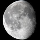 『月齢18.2の綺麗なお月様』の画像