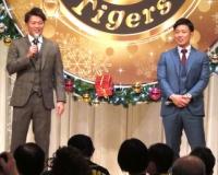 【阪神】糸原&北條、クリスマスパーティーでファンと交流「感謝したいです」
