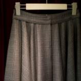 『新作フレアースカートを制作中。』の画像