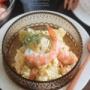 【レシピ】海老とじゃがいものタルタルサラダ(←女子ウケ抜群デリ風サラダ)。