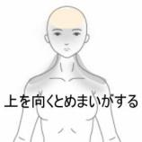 『上を向くとめまいがする 室蘭登別すのさき鍼灸整骨院 症例報告』の画像