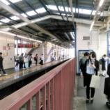 『西武新宿線(その2) 朝ラッシュ時・鷺ノ宮駅での乗降観察。西武新宿線も混雑の酷い路線であった。』の画像