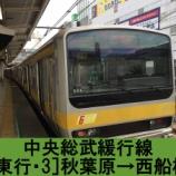『中央総武線 各駅停車 車窓[東行・3]秋葉原→西船橋』の画像
