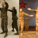 【動画】在日米軍「恋ダンス」vs. 中国人民解放軍「 チキンダンス」 [海外]