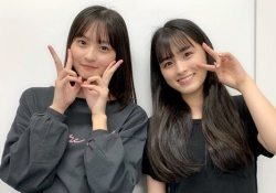 【ぐうかわ】大園桃子×遠藤さくら、やっぱセンターはるメンバーは凄いなwww