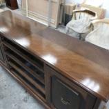 『【クラシック家具】ローボードの塗り直し』の画像