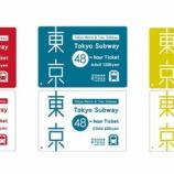 『ネット予約サービス「スマートEX」をご利用のお客様にも「Tokyo Subway Ticket」を発売します!』の画像
