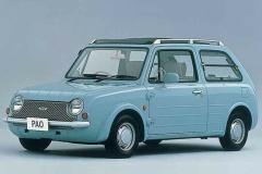 Be-1、パオ、フィガロ… 今でも色あせない日産パイクカーの魅力