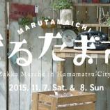 『まるたま市にエアフェスタ!浜松の秋イベント情報まとめ - 11月7,8日』の画像