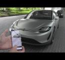 ソニーの電気自動車「VISION-S」がかっこいい