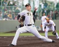 阪神岩貞、今季も1勝10万円 熊本の少年野球に