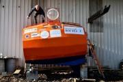 【フランス】71歳の男性、たる形カプセルで海流のみによる大西洋横断に出発 シャチの襲撃に備えるため補強、窓アリ
