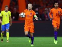 【 ハイライト動画 】オランダ、W杯出場逃す…ロッベン2発で勝利も5点届かずユーロに次ぐ予選敗退!
