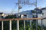 トーマス号が走っていくのをGIFで表現してみた!〜河内森駅からホームに向かう様子が動的だ!〜