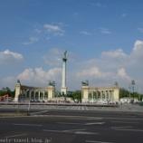『ハンガリー旅行記13 【世界遺産】ハンガリーの英雄が集う英雄広場』の画像