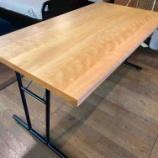『北欧スタイルの空間にお勧めのダイニングテーブル・ポプラ無垢』の画像