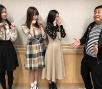 【乃木坂46】レコメンに登場した3人組をしっかり撮影するのりさん最高